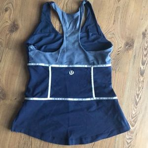 Lululemon RARE tank top with build in bra